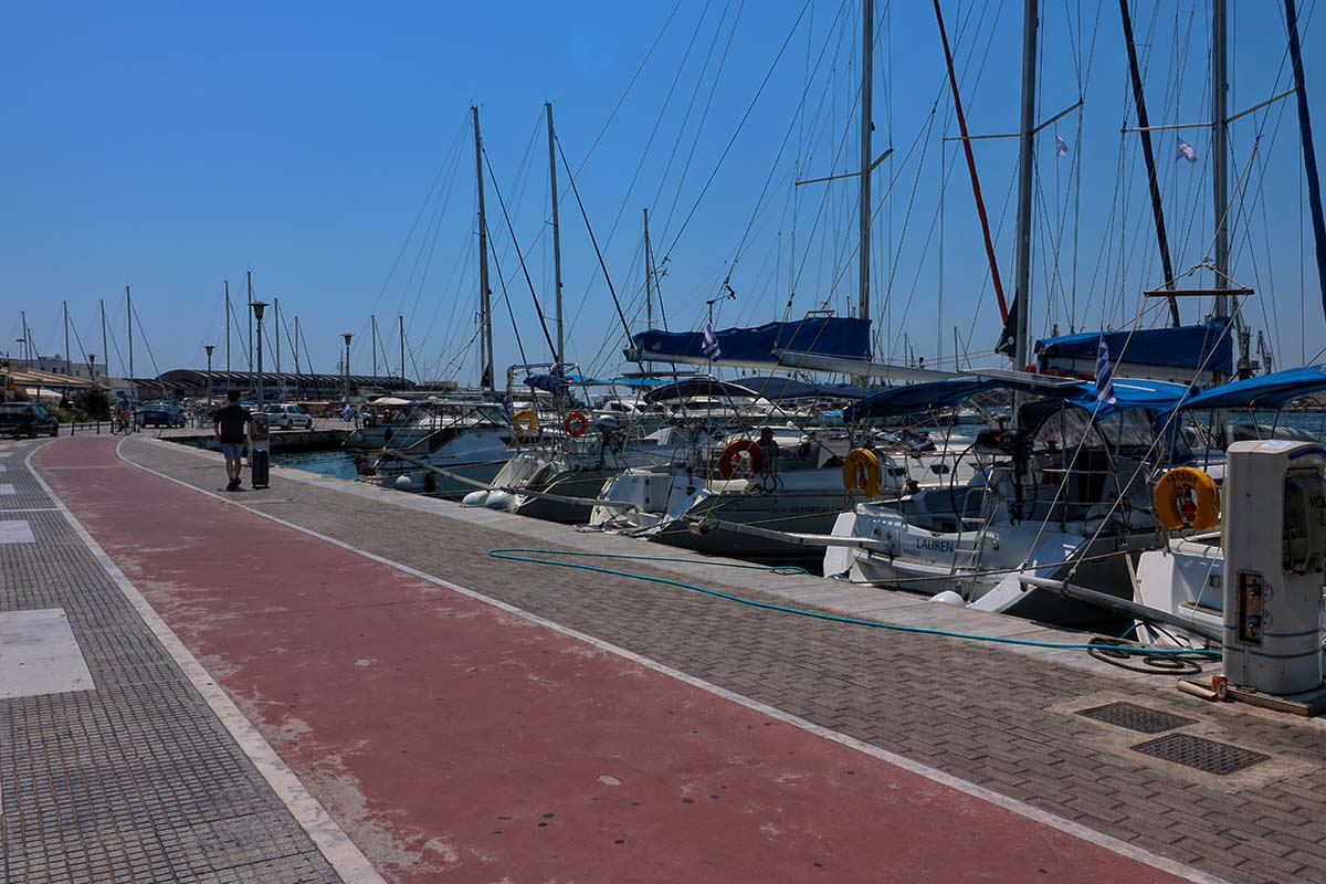 volos town yachts beach port greece greek experience